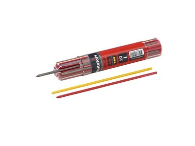 Hultafors Dry Marker Refills—Graphite and Chalk (Red and Yellow)