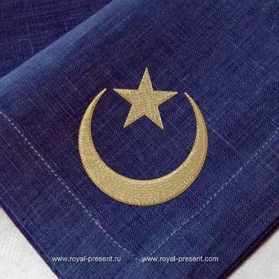 Дизайн для машинной вышивки Ислам