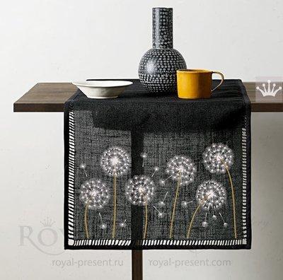 Дизайны машинной вышивки Одуванчики - 6 в 1