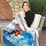 Custom Blanket with Faux Fur Lining - 50