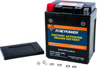FIRE POWER SEALED FACTORY ACTIVATED BATTERY CTX14AH