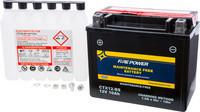 FIRE POWER BATTERY CTX12-BS MAINTENANCE FREE