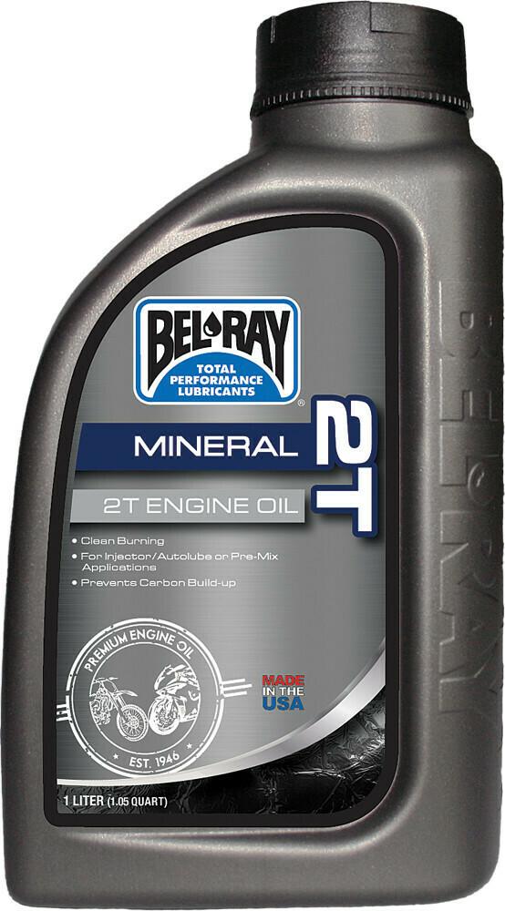 BEL-RAY 2T MINERAL ENGINE OIL 1L