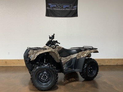 Pending - 2012 Honda Rancher 420 AT EPS - Only 482 Miles