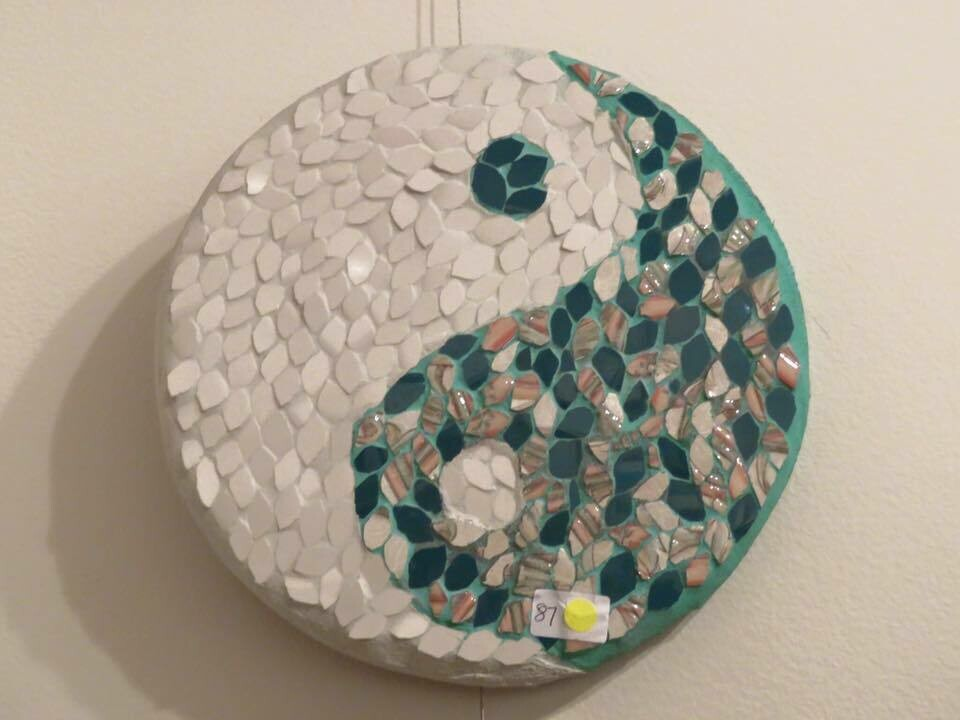 Beginners Mosaics classes at Beliana Mosaics Gembrook