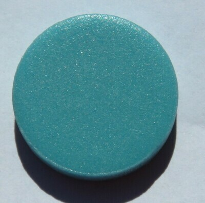Emaux de Briare Pastille Turquoise penny round tiles 100g