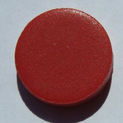 Emaux de Briare Pastille Red Penny round tiles 100g