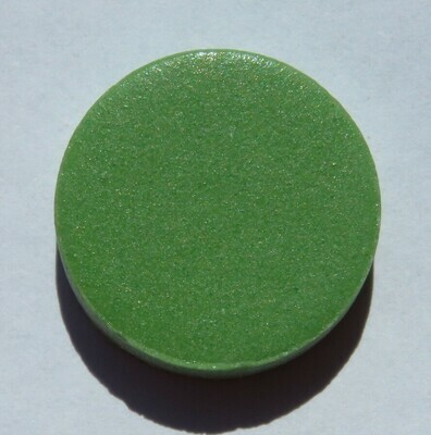 Emaux de Briare Pastille Green Penny round tiles 100g