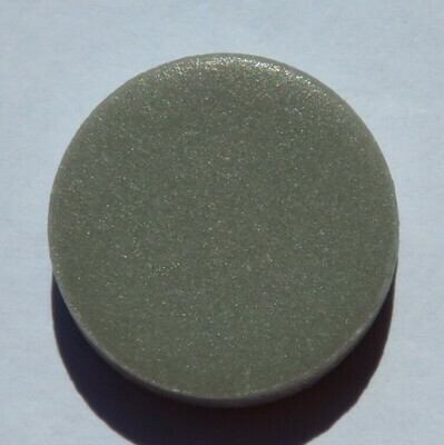 Emaux de Briare Pastille Grey Penny round tiles 100g