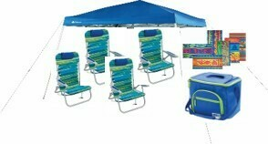 PKG:  Deluxe 4 Pack w/ 10 X 10 Canopy