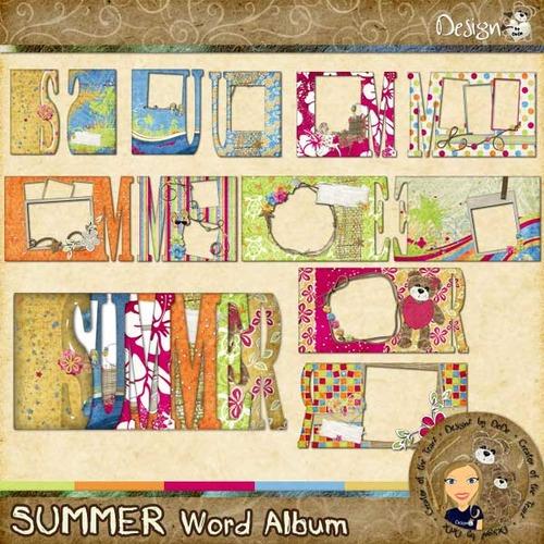 SUMMER Word Album