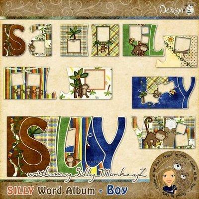 SILLY Word Album - Boy