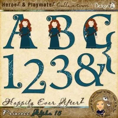Happily Ever AfterZ: Princess Alpha 15