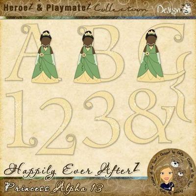 Happily Ever AfterZ: Princess Alpha 13