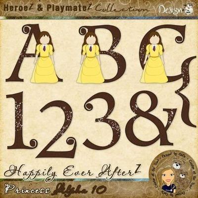 Happily Ever AfterZ: Princess Alpha 10