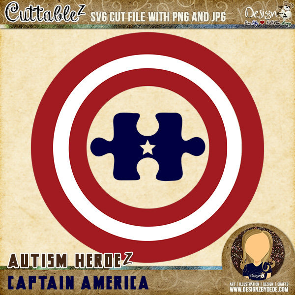 Captain America   Autism HeroeZ