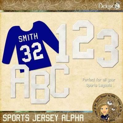 Sports Jersey Alpha