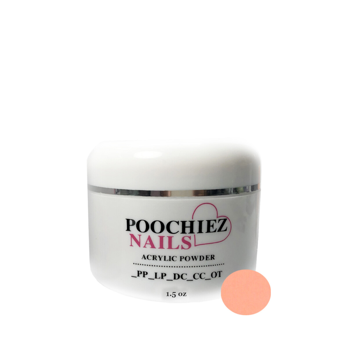 (PA6) 1.5oz LIGHT PEACH COVER ACRYLIC