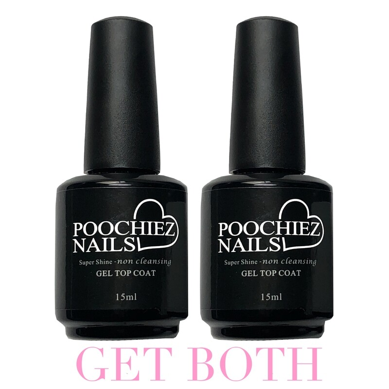 ITEM #31 GET 2 SUPER SHINE TOP COATS