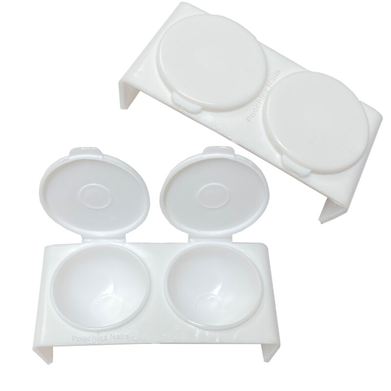 DAPPEN DISH (WHITE 1pc)