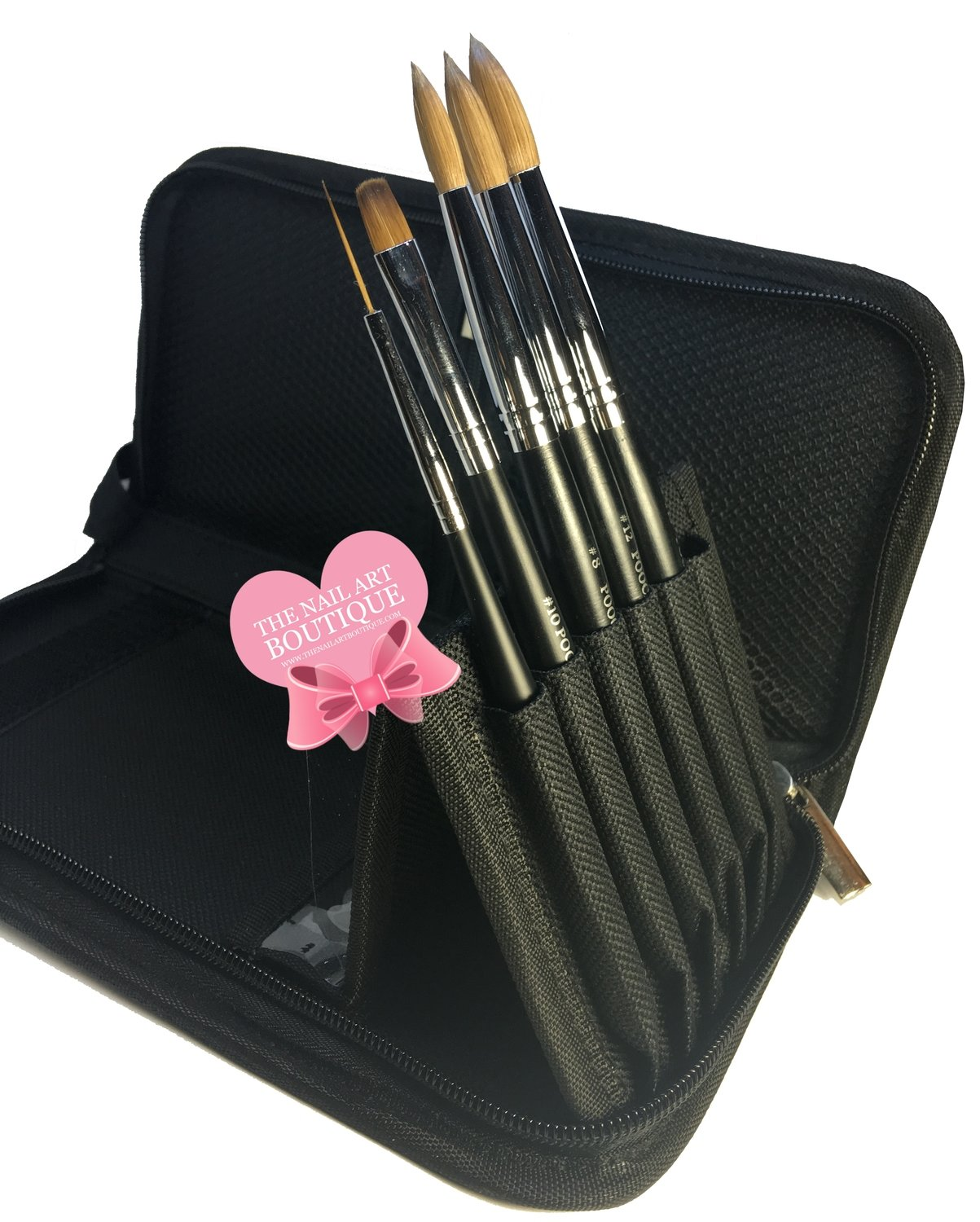 ITEM #37 POOCHIEZ NAILS BRUSH BAGS (BRUSHES ARE NOT INCLUDED)