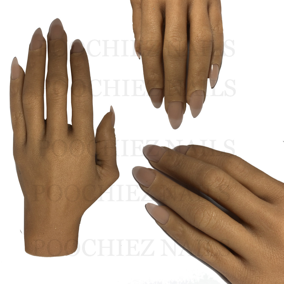 (H0) BELLA REALISTIC FULL PRACTICE HAND ( PLEASE READ THE DIRECTIONS & WATCH THE VIDEOS BELOW) WILL TAKE 5-8 DAYS TO PROCESS.