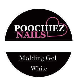 POOCHIEZ NAILS MOLDING GEL WHITE 10G EACH