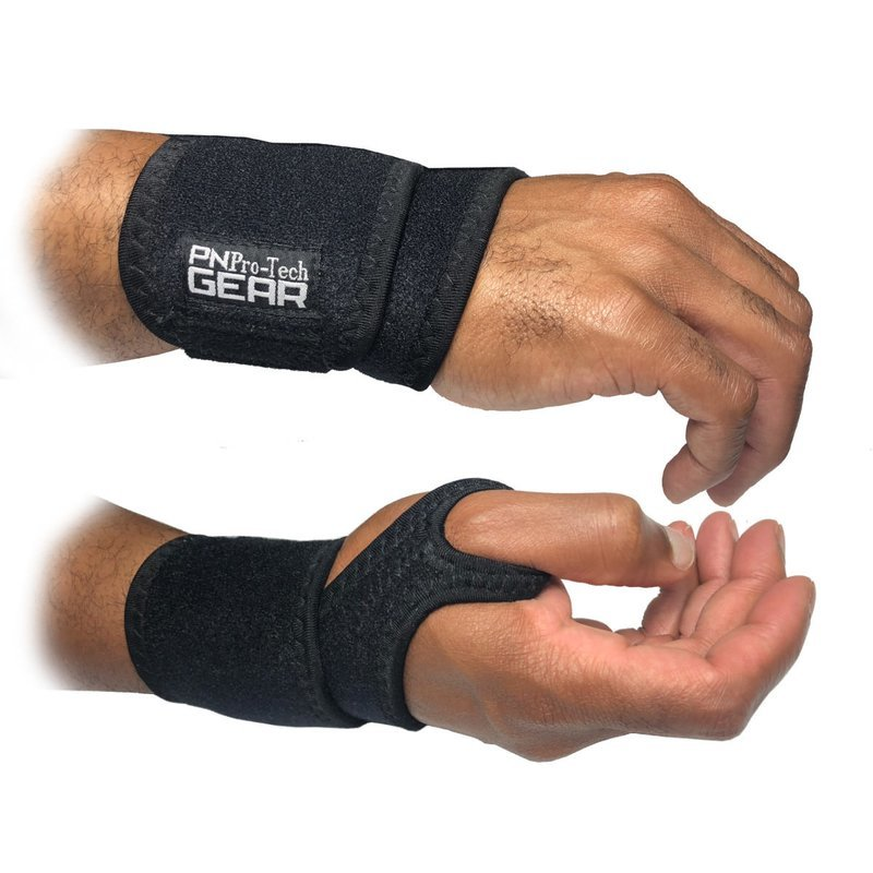 PN WRIST SUPPORT (WEAR WHILE YOU WORK) WEAR ON LEFT OR RIGHT HAND.
