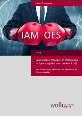 Das Einkaufsverhalten von Werkstätten im Spannungsfeld zwischen IAM & OES