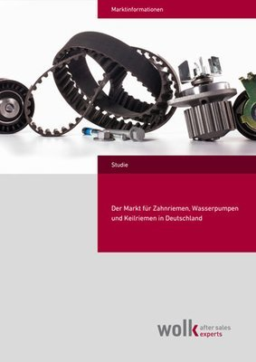 The market for timing belt, water pump and V-belt in Germany