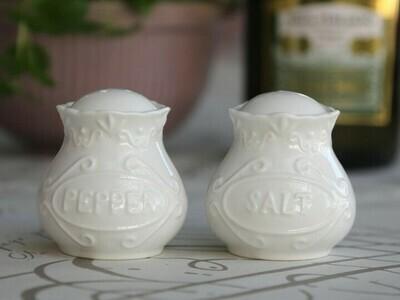 Provence salt & peber sæt 100% porcelæn