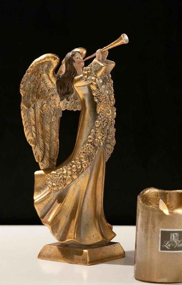 Engel m/trompet, guld