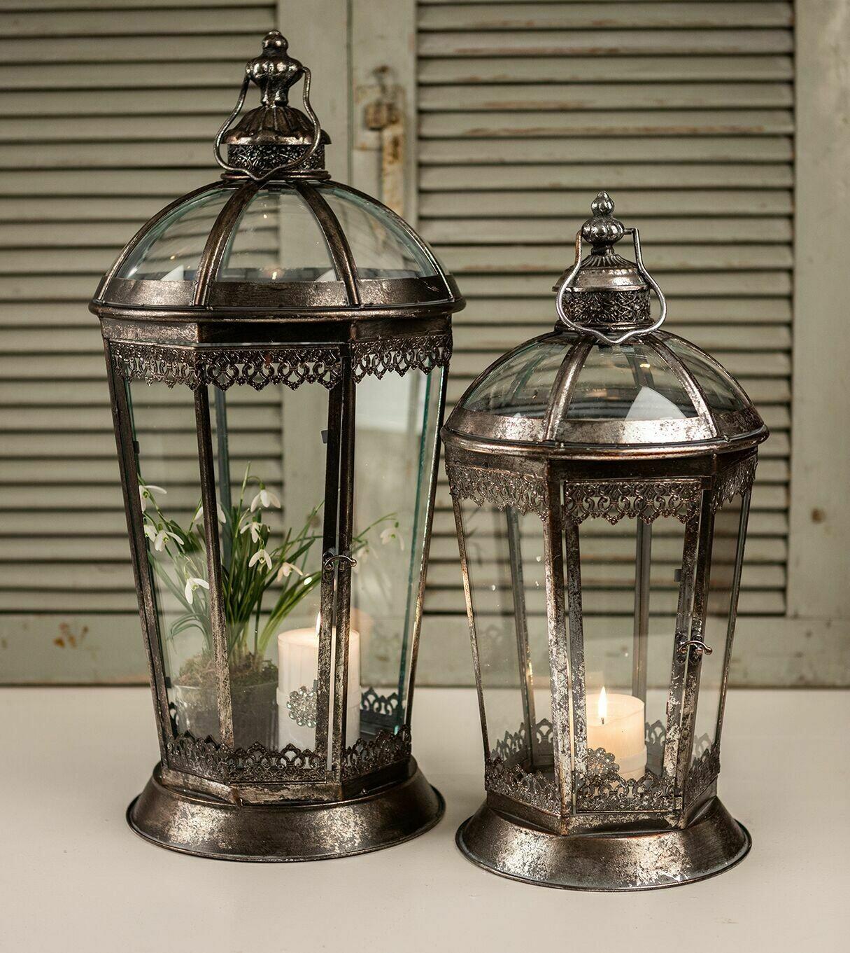 8 kantet lanterne