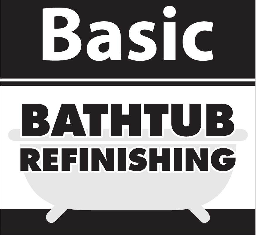 BASIC TUB REFINISHING 2 Coat System  (No Coupon)