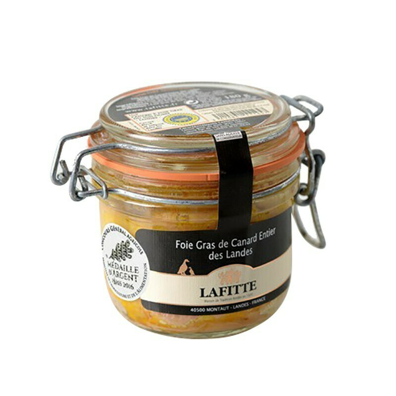 Kachní Foie gras celá, sklo, 180g