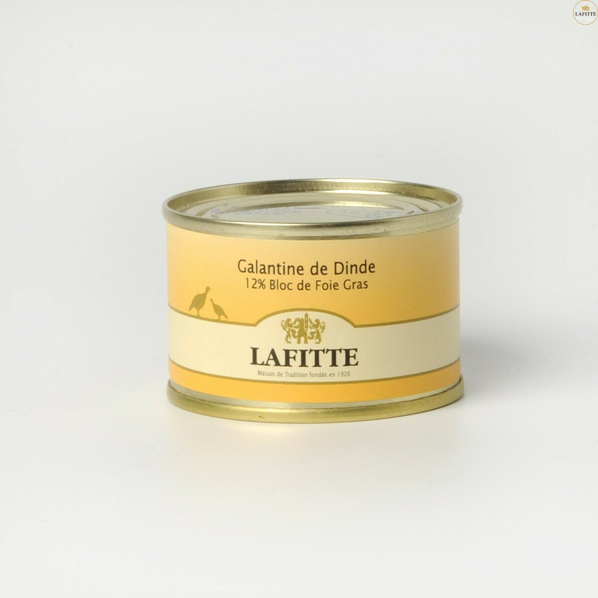 Krůtí galantina, 12% Bloc Foie Gras, 65g