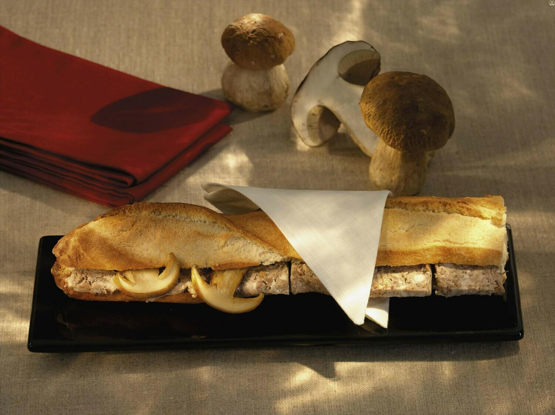 Tradiční paštika -  s houbami