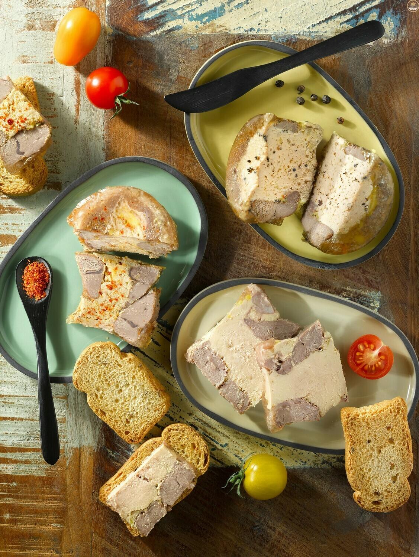 Tenké plátky kachny, 30% Foie Gras, 80g