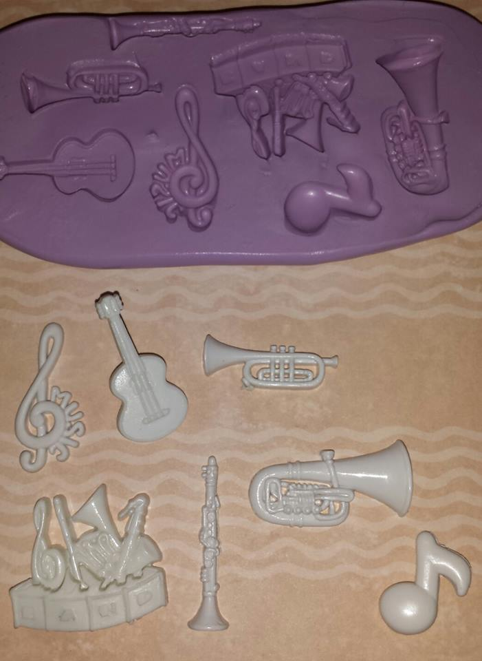 Mini Music Mold Set