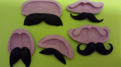 Mustache Mold Set