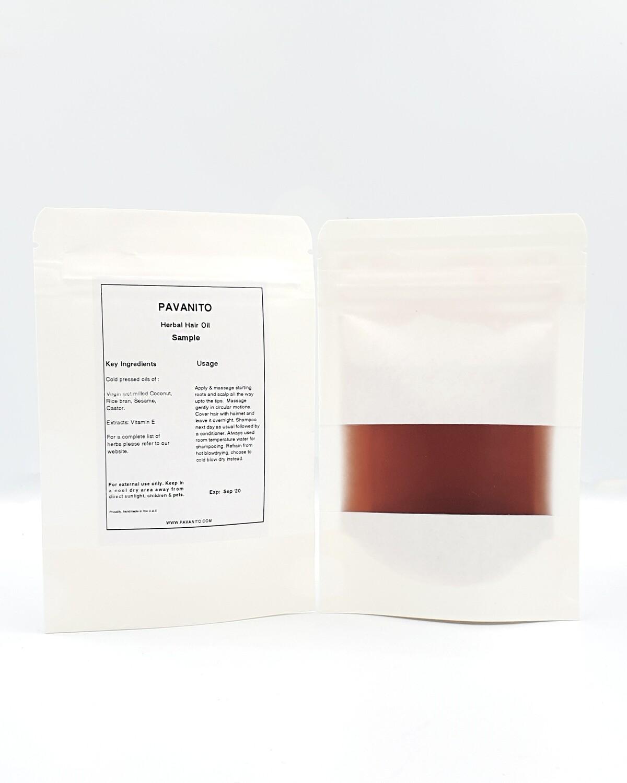 Herbal Hair Oil - Sample Pack