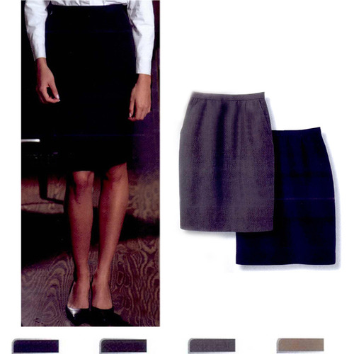 Ladies Knee Length Pencil Skirt