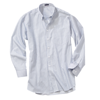 River's End EZ-Care Men's Stripe Casual Shirt