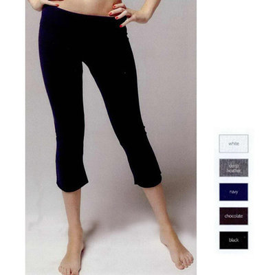 Ladies' 8 oz. Spandex Capri Pant