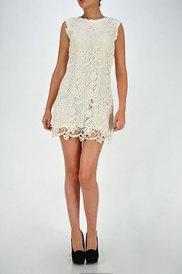 Lace over Lace Dress