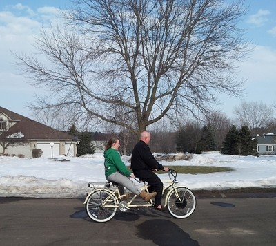 Electric Tandem Bike