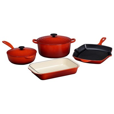 Le Creuset 6 Piece Signature Cookware Set