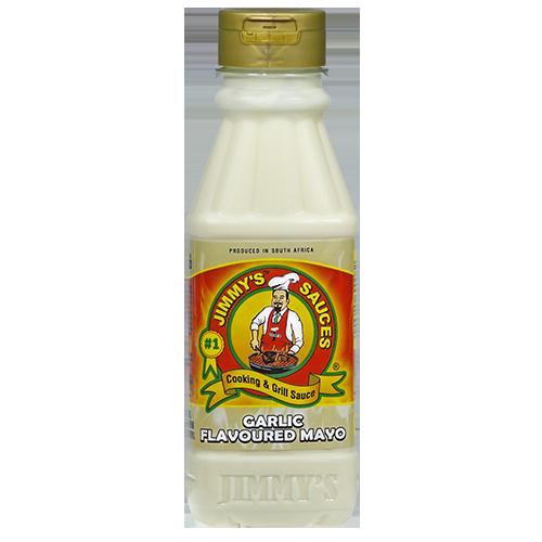 375ml Jimmy's Garlic Flavoured Mayo