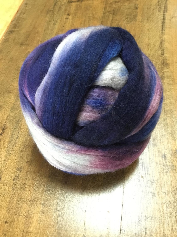 Merino/Yak/Silk 70/15/15 Dyed Top 4oz/ 2 balls