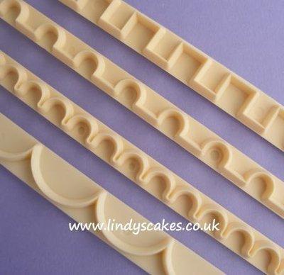 Straight Frill Cutter Set 9-12 (FMM)